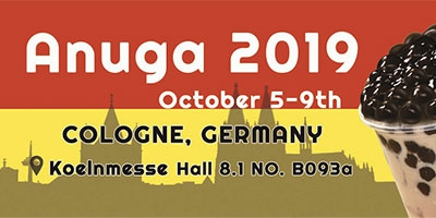 2019/10/05 ~ 2019/10/09  (ANUGA 2019 in Cologne)