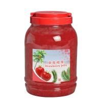 Strawberry Coconut Jelly