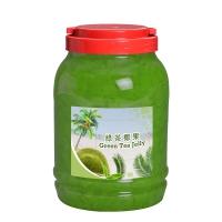 Green Tea Flavor Coconut Jelly