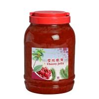 Cherries Flavor Coconut Jelly