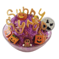 Halloween Special-Purple Sweet Potato Snow Ice
