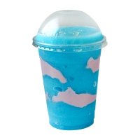 Halloween Drink-Blue Curacao Yogurt Smoothie