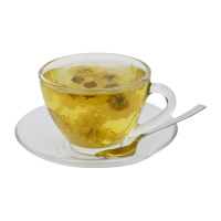 Hot Chrysanthemum Green Tea
